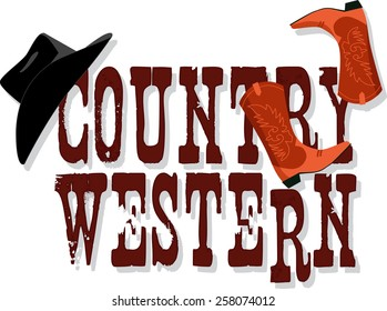 Country Western Images, Stock Photos & Vectors | Shutterstock