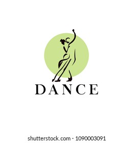couple Dance Logo Designs Template