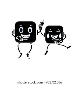 couple face emoji characters