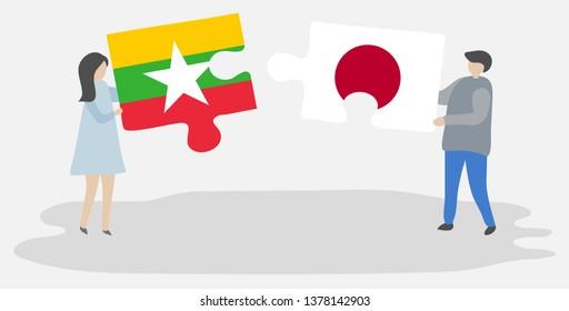 Myanmar Couple Images Stock Photos Vectors Shutterstock