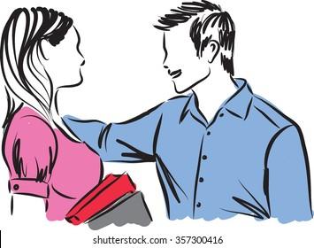 couple illustration d