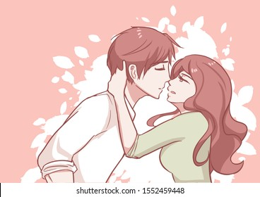 Anime Romantic Images Stock Photos Vectors Shutterstock