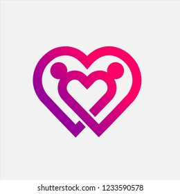 Couple Love Logo