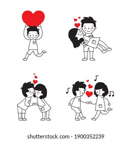 Cartoon Couple Images Stock Photos Vectors Shutterstock