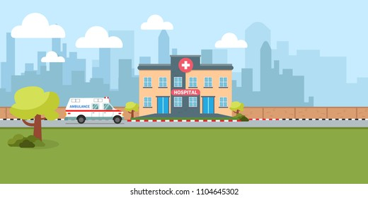 Couple of lovely senior with healthcare. old people health concept vector illustration.