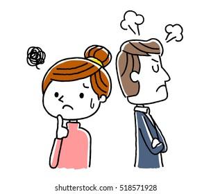 Couple: My husband's bad mood
