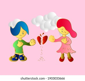 couple-valentine-background-3d-vector-26
