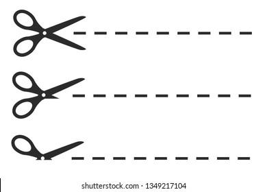 Coupon border sign - stock vector