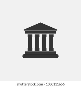 Court house vector icon