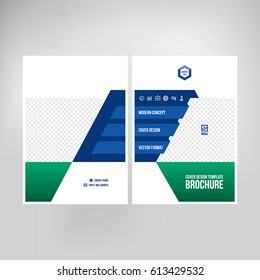 cover catalogue brochure booklet leaflet graphic stock vector