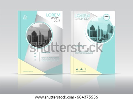 cover design annual report cover flyer stock vector royalty free