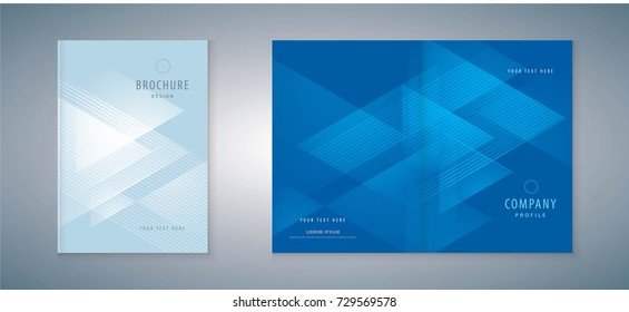 Cover design annual report, vector template brochures, flyers, presentations, leaflet, Invitation card, magazine