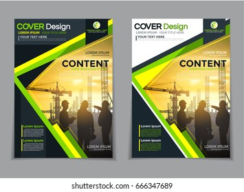 Cover design annual report,vector template brochures, flyers, presentations, leaflet, magazine a4 size.