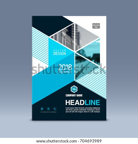 cover design corporate brochure template magazine のベクター画像