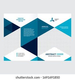 Cover design, creative layout of  the company's annual report