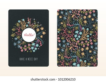 Notebook Cover Design Images Stock Photos Vectors