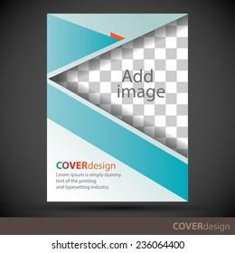 Cover design template