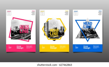 Cover Design Template,  Abstract Background, vector Illustration