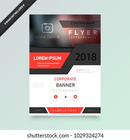 Cover design template for annual report. Abstract modern vector illustration. Cover presentation on a4. Abstract presentation templates. Flyer text font. Ad flyer text. White a4 brochure cover design.