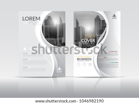 cover design template annual report cover stock vector royalty free