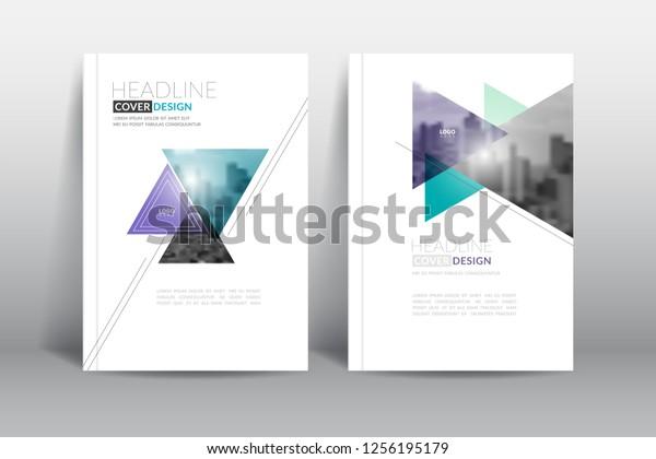 стоковая векторная графика Cover Design Template Annual