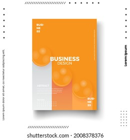 Cover design template set with abstract lines modern different color gradient style on background for decoration presentation, brochure, catalog, poster, book, magazine etc. Vector Illustration