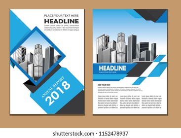 cover, layout, brochure, magazine, catalog, flyer for company or report