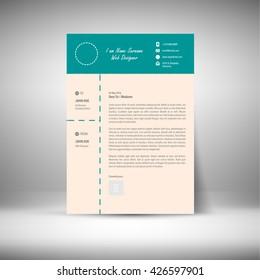 Cover Letter Print Design