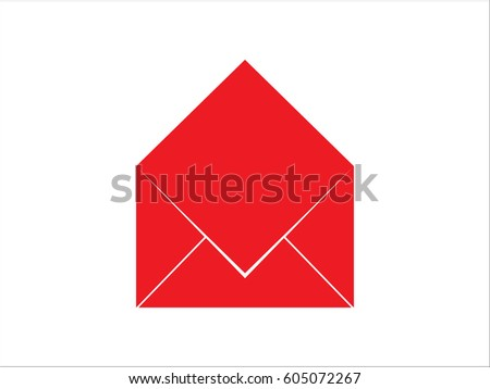 Cover Letter Sign Symbol Vector Illustration Eps10