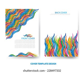 shutterstockのiroom stockさんの annual report template background