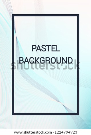 Cover Template Design Abstract Backgrounds Distorted Stock Vector