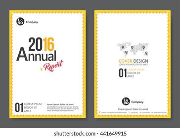 Cover template design. Vector illustration