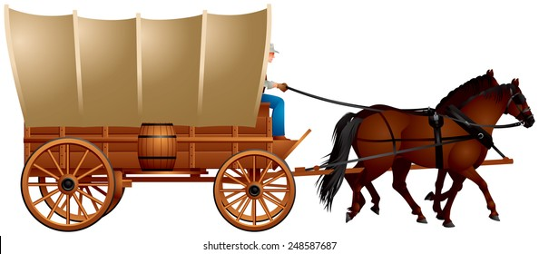 covered wagons images  stock photos   vectors shutterstock running horse clip art gif running horse clip art coloring pages