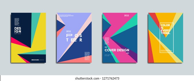 Covers template with minimal design. Eps10 vector template.
