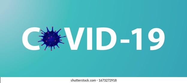 Covid 19, pandemic coronavirus symbol and icon vector illustration. covid-19