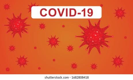covid-19 corona virus. health care banners and icon image