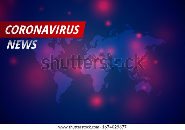 covid-19 coronavirus news latest concept with text space