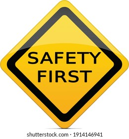 COVID19 SAFETY FIRST HD VECTOR FOR USER