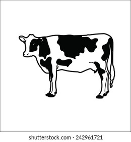 Cow Drawing Images Stock Photos Vectors Shutterstock