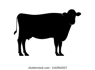 Cow Animal Silhouette