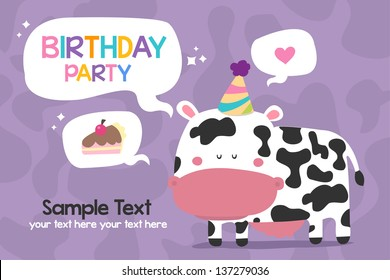 birthday cow images stock photos vectors shutterstock