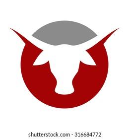 cow or bull logo