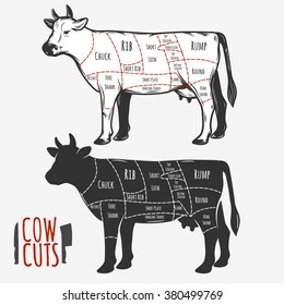 Cow cuts for your design.