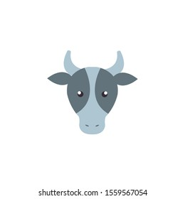 cow design, Farm animal nature rural farming harvest countryside and organic theme Vector illustration