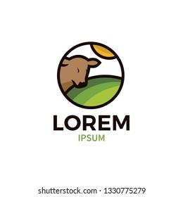 cow farms logo