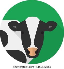 Cow Flat Design