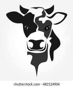 cow face images stock photos vectors shutterstock rh shutterstock com cow face silhouette clip art adorable cow face clipart