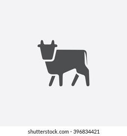 Cow Icon.