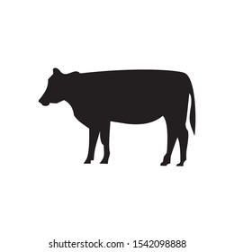 Cow icon vector illustration sign