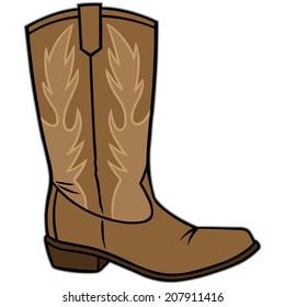 cartoon cowboy boots images stock photos vectors shutterstock rh shutterstock com cartoon cowboy boots with spurs cartoon cowboy boots